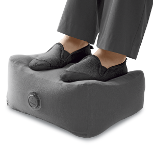 Business Class inflatable footrest
