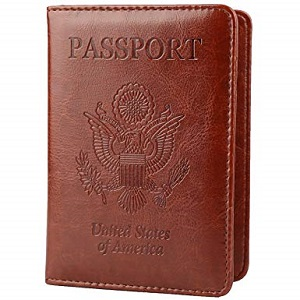 GDTL Passport holder in colors