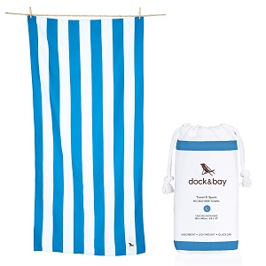 dock & bay microfiber beach towel