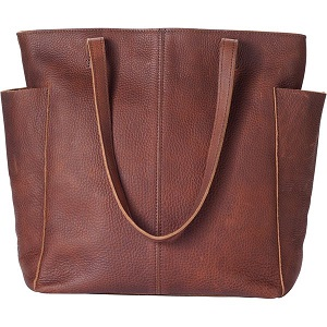 duluth trading leather bag