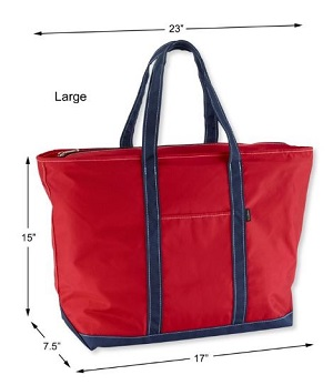 LL Bean everyday lightweight tote