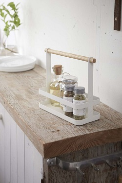 tosca tabletop spice rack