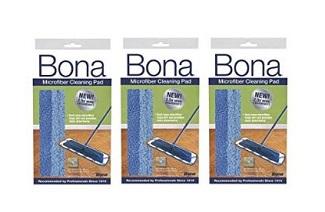 bona microfiber cleaning pads