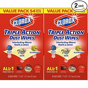 clorox dust/cleaning wipes