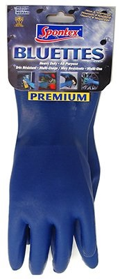 spontex bluettes rubber gloves
