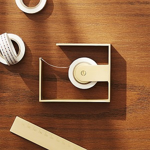 CB2 solid brass dispenser