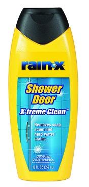 Rain-X shower door cleaner