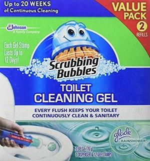 scrubbing bubbles toilet gel