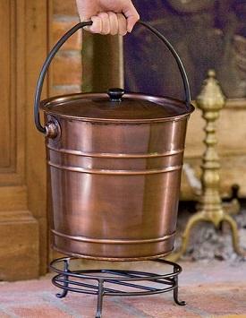 gardener's supply copper bucket