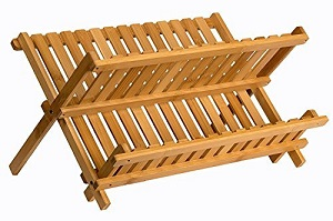 sagler wooden dish rack