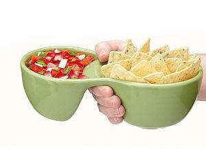 ergonomic handheld bowls