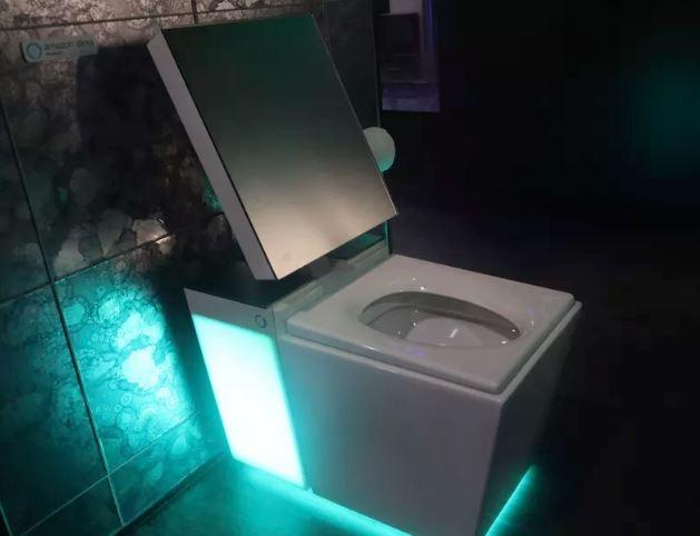 Kohler's new smart toilet