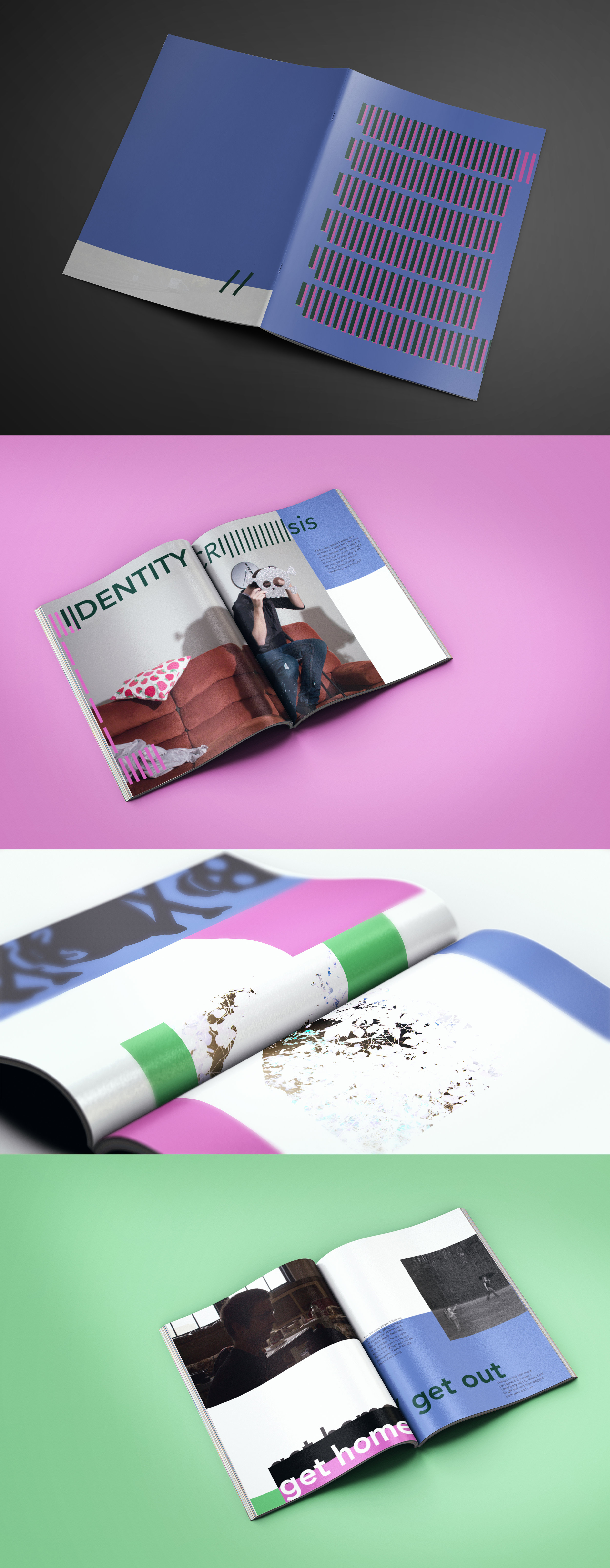 Reflective Magazine - A look into what a publication might be if it was a communication of inner thoughts.