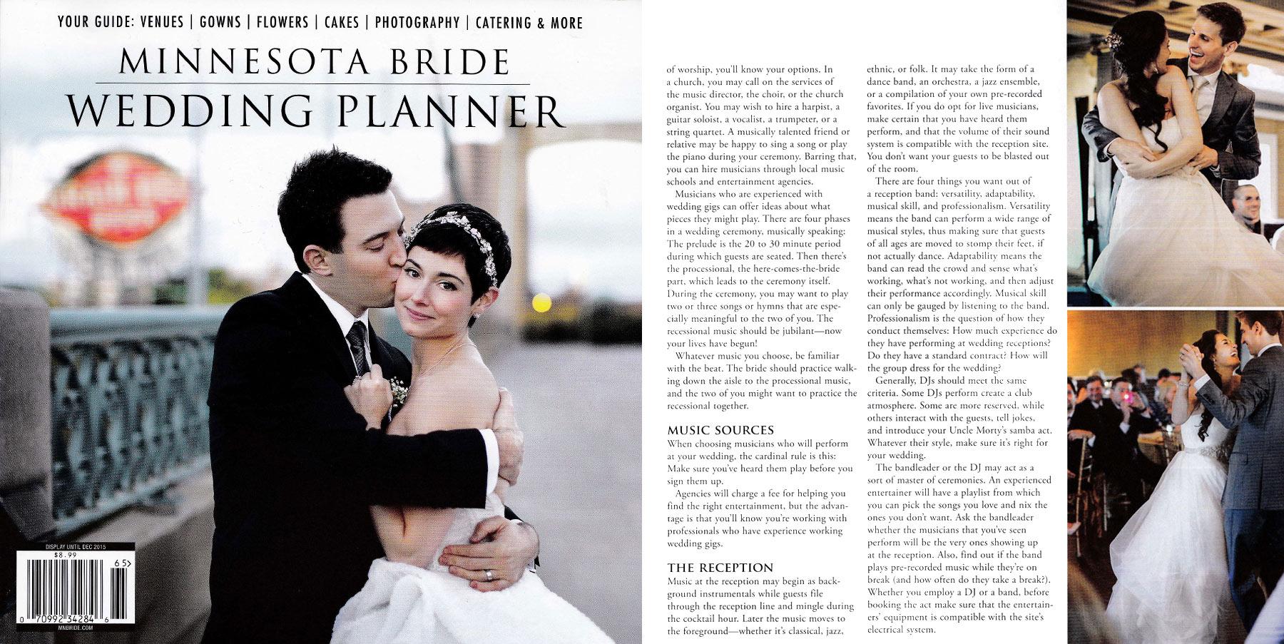 2015 MN BRIDE WEDDING PLANNER -