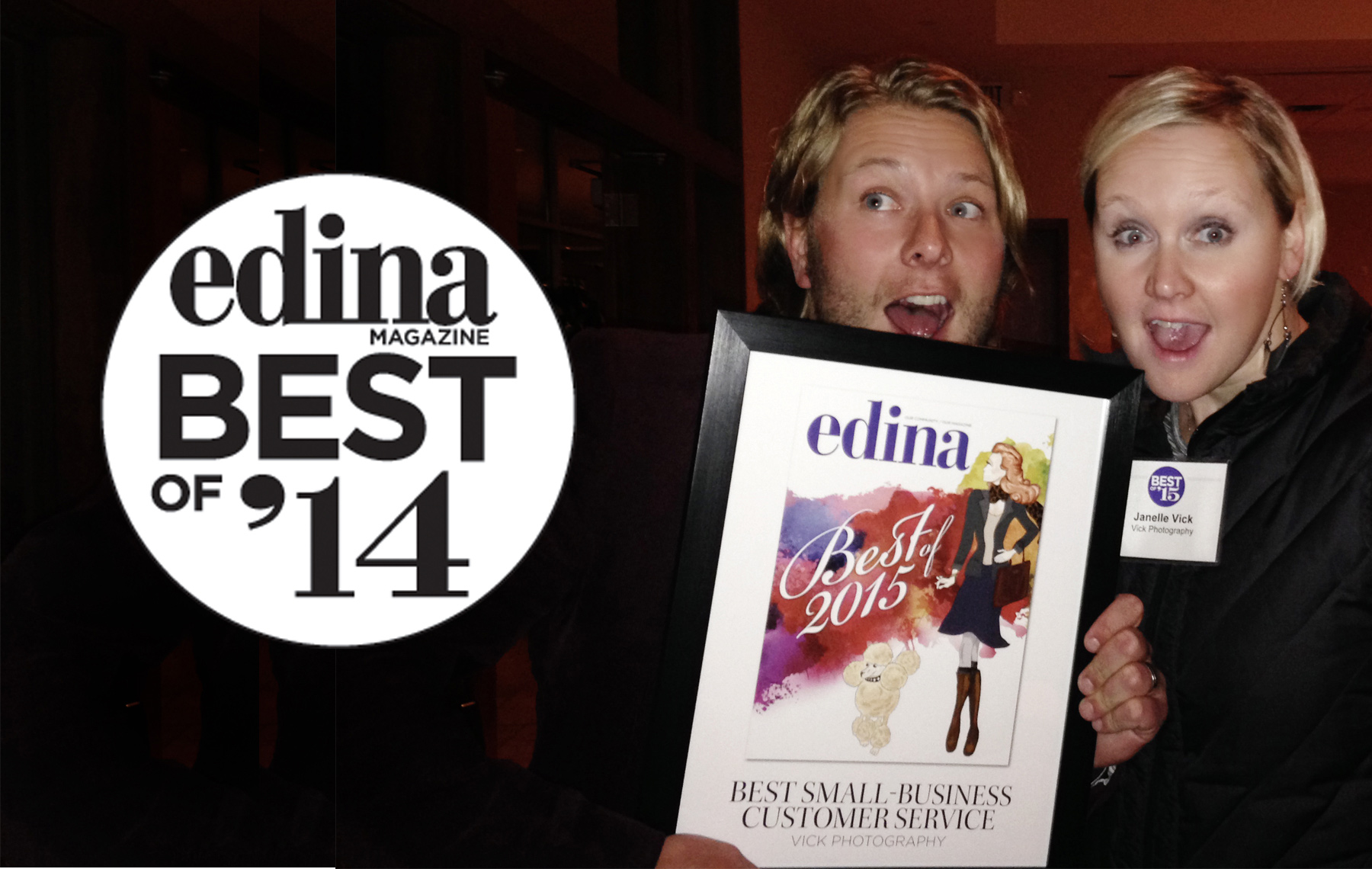 2014 EDINA MAGAZINE AWARD -