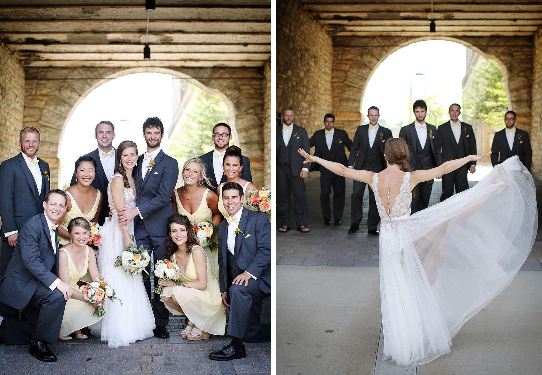 10-Minneapolis-Minnesota-Wedding-Photography-by-Vick-Photography-Downtown-Wedding-Party-Group-Sarah-&-Tom.jpg