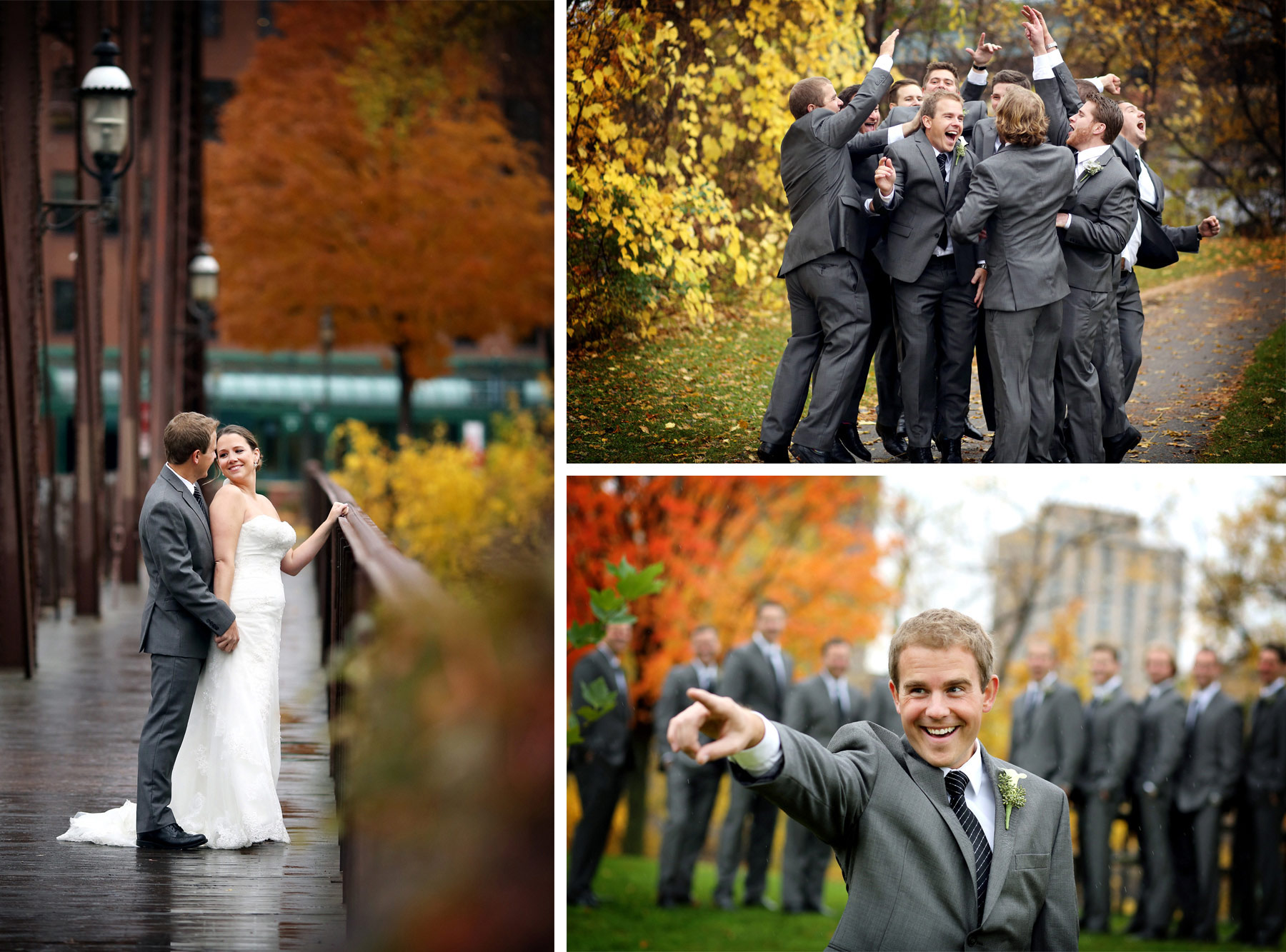 04-Minneapolis-Minnesota-Wedding-Photography-Downtown-Rain-Nicollet-Island-Pavilion-Fall-Colors-Fall-Leaves-Autumn-Kalley-and-Ben.jpg