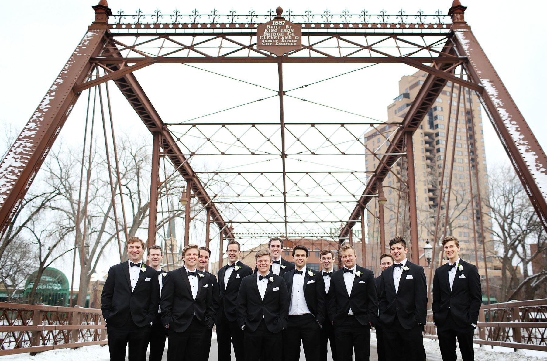 10-Minneapolis-Minnesota-Wedding-Photography-by-Vick-Photography-Downtown-Winter-Groomsmen-Nicollet-Island-Caroline-and-J.jpg