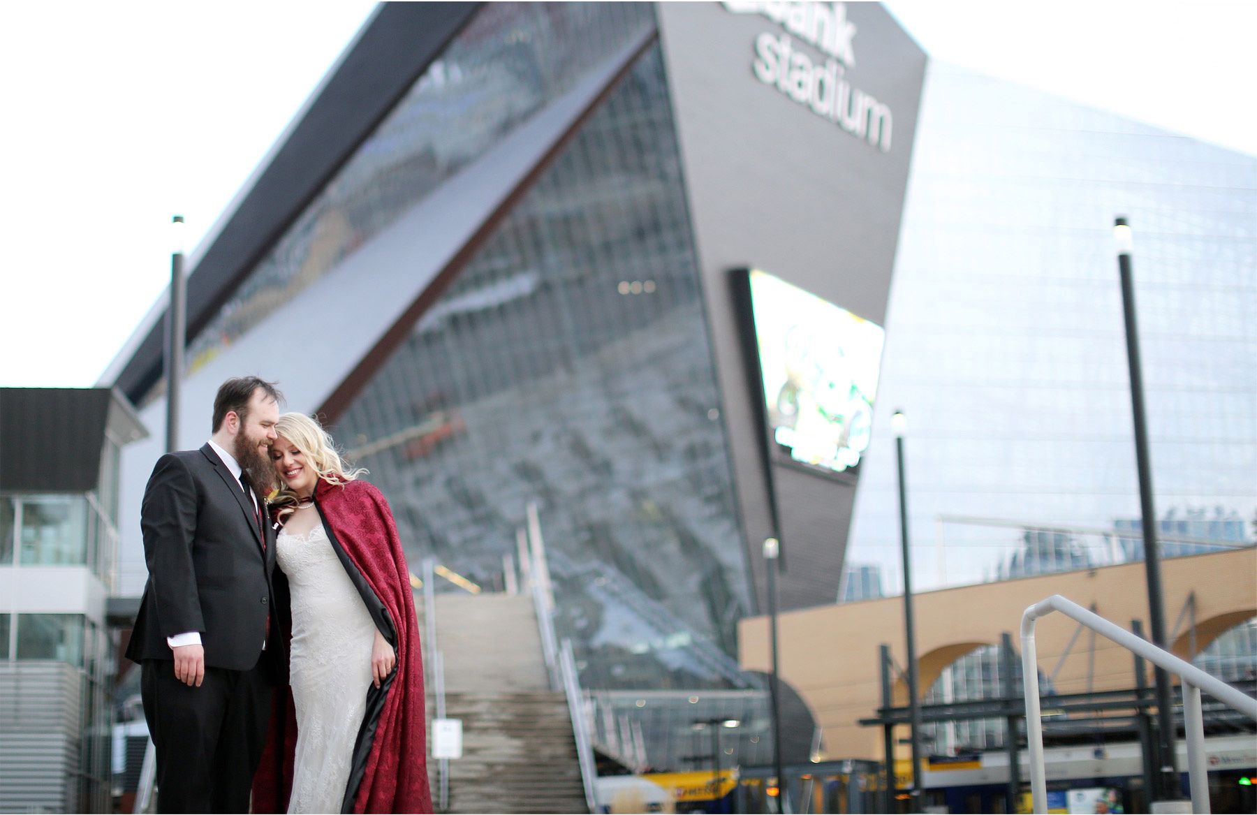 18-Minneapolis-Wedding-Photography-by-Vick-Photography-US-Bank-Stadium-Football-Vikings-Winter-Wedding-Red-Cape-Shayla-and-Kyle.jpg