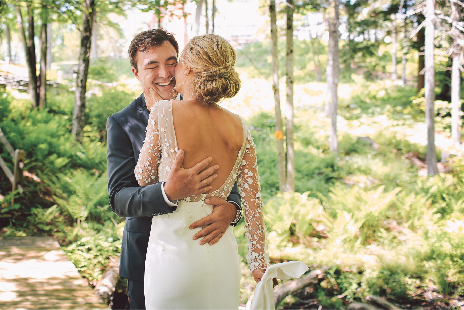 11-Stowe-Vermont-Wedding-Photography-by-Vick-Photography-Edson-Hill-First-Look-Forest-Woods-Mackenzie-and-Jim.jpg