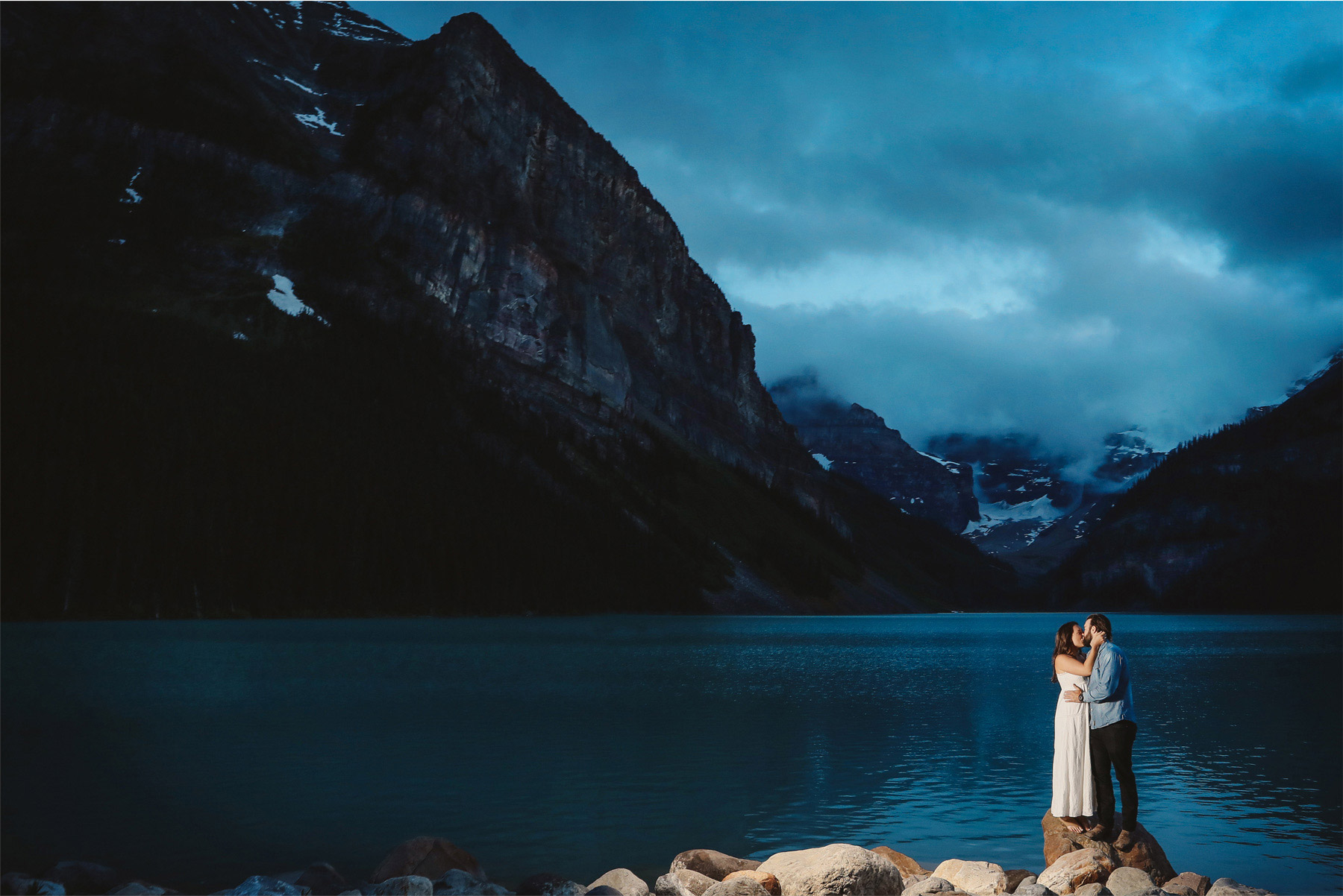 16-Banff-Canada-Engagement-Photography-by-Vick-Photography-Mountains-Lake-Louise-Night-Photography-Lizz-and-Brady.jpg
