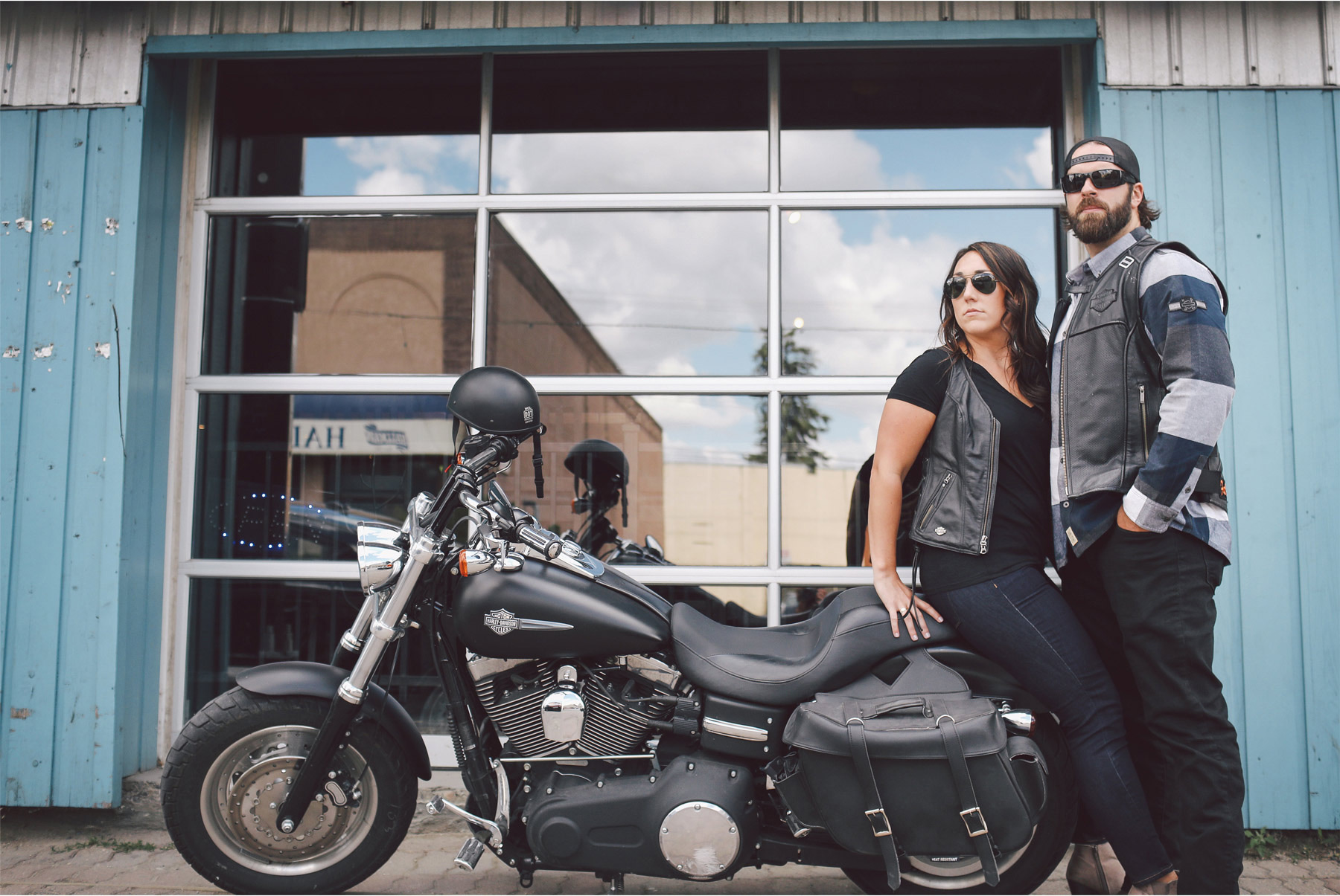 05-Calgary-Canada-Engagement-Photography-by-Vick-Photography-Bikers-Harley-Davidson-Lizz-and-Brady.jpg