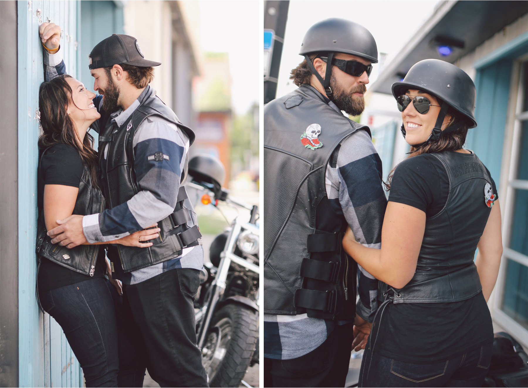 08-Calgary-Canada-Engagement-Photography-by-Vick-Photography-Bikers-Harley-Davidson-Lizz-and-Brady.jpg