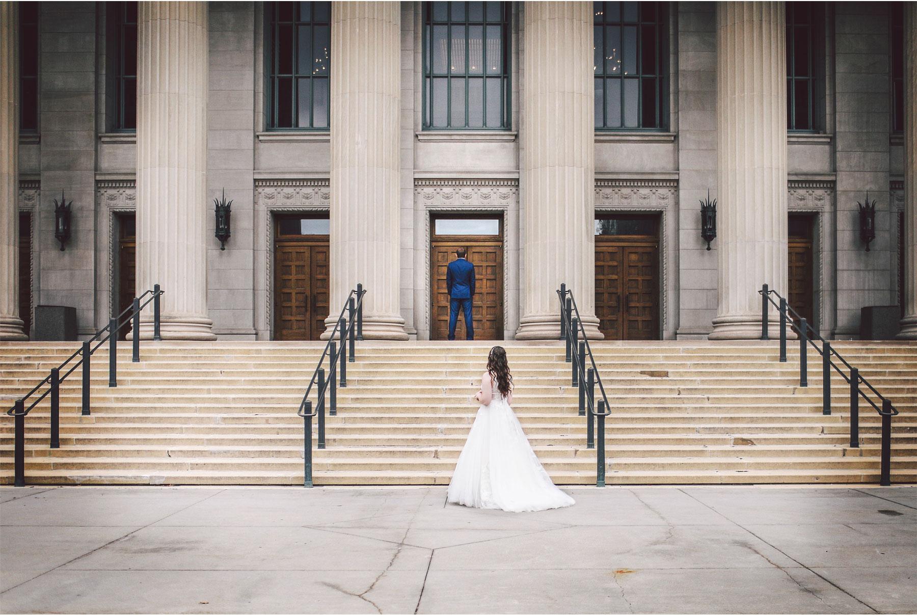 03-Saint-Paul-Minnesota-Wedding-Photography-by-Vick-Photography-Saint-Paul-Athletic-Club-First-Look-Kelsey-and-Jeffery.jpg