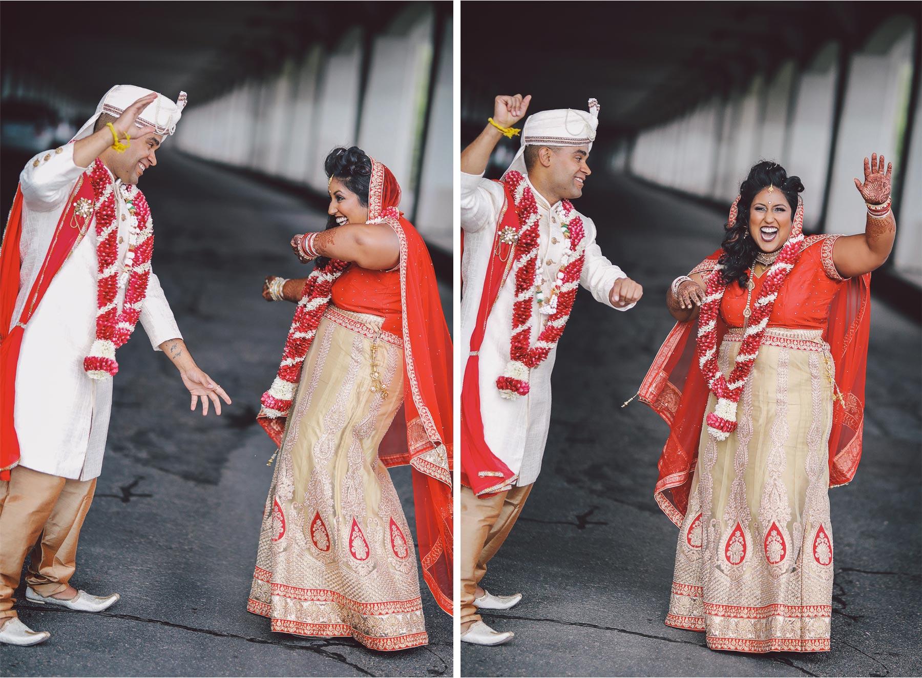 18-St-Paul-Minnesota-Wedding-Photography-by-Vick-Photography-Happy-Bride-and-Groom-Dancing-Leena-and-Michael.jpg