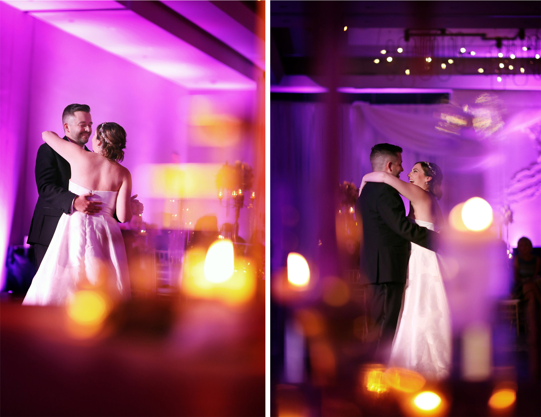 20-Minneapolis-Minnesota-Wedding-Photography-by-Vick-Photography-Loews-Hotel-Reception-Pink-Lighting-First-Dance-Caitlin-and-Alec.jpg