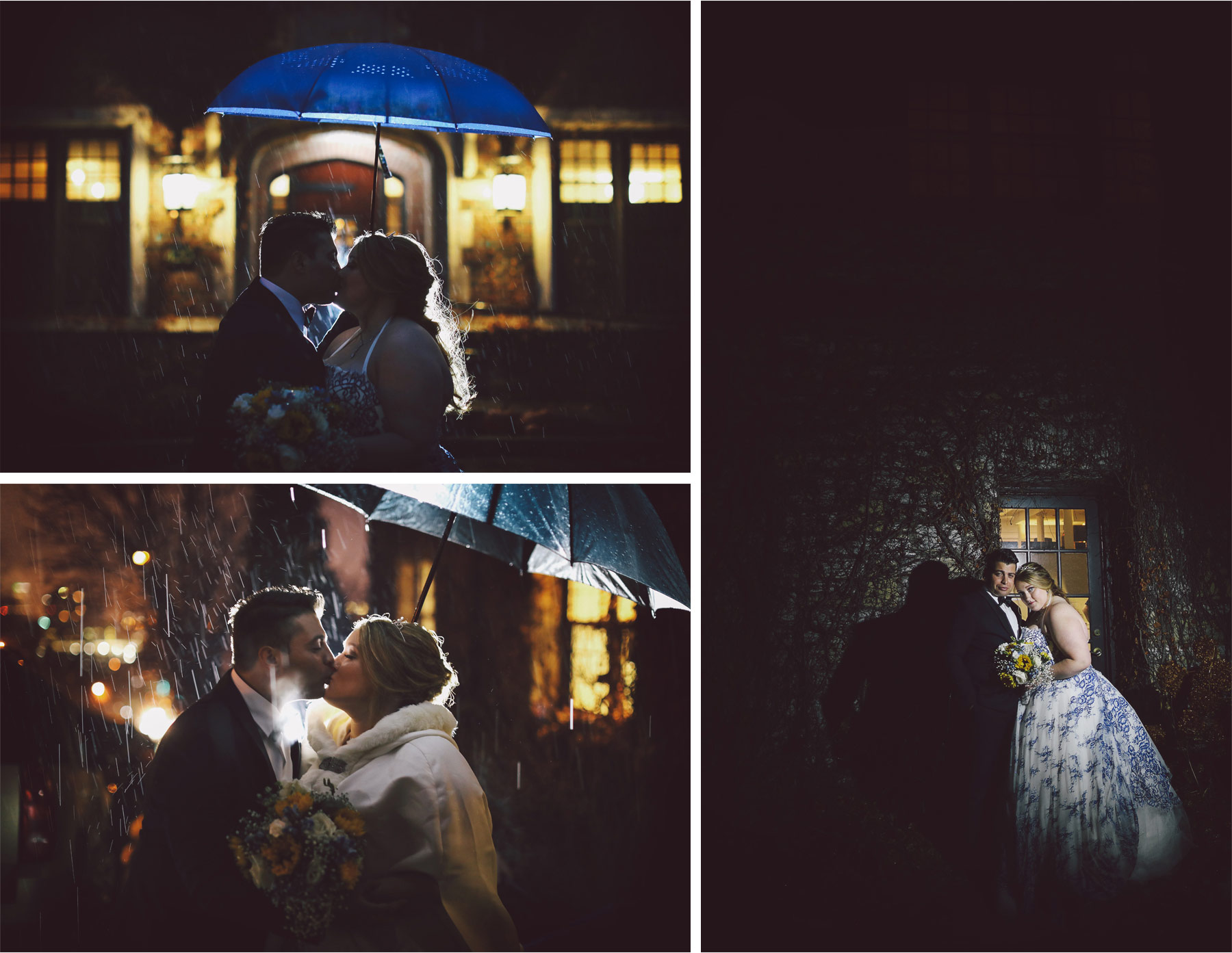 11-Saint-Paul-Minnesota-Wedding-Photography-by-Vick-Photography-The-University-Club-Night-Photography-Rain-Umbrella-Mari-and-Giuseppe.jpg