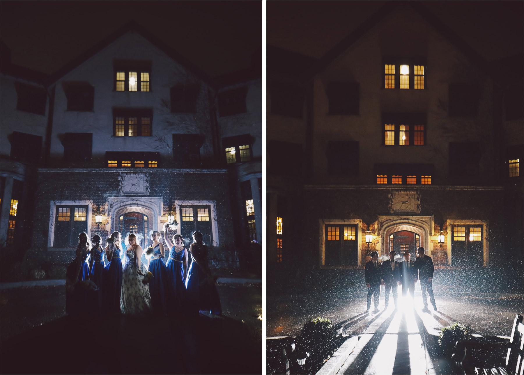 15-Saint-Paul-Minnesota-Wedding-Photography-by-Vick-Photography-The-University-Club-Night-Photography-Rain-Umbrella-Bridesmaids-Groomsmen-Mari-and-Giuseppe.jpg