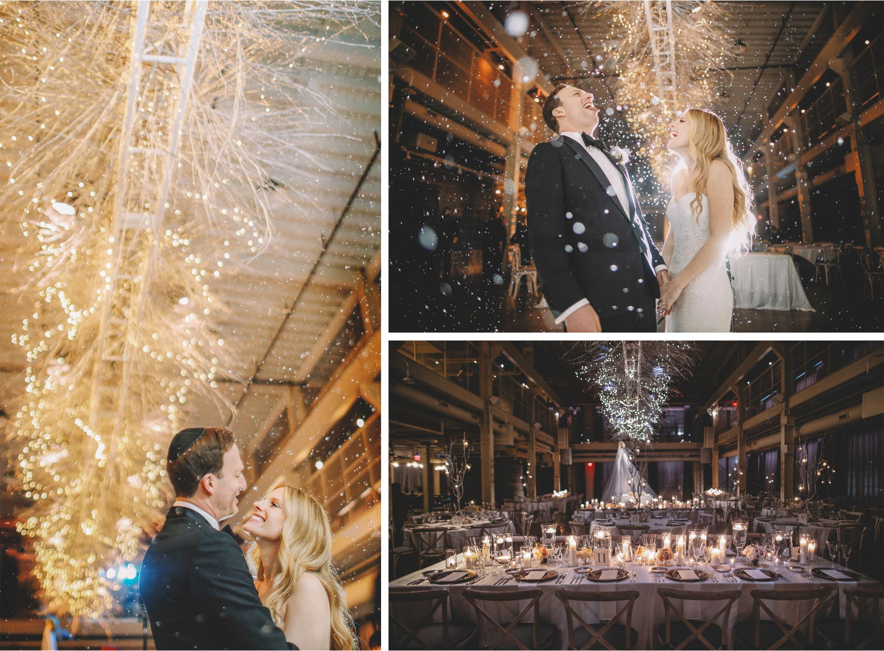 16-Minneapolis-Minnesota-Wedding-Photographer-by-Vick-Photography--Indoor-Snow-Bride-and-Groom-Winter-Wedding-Machine-Shop-Alyssa-and-Garron.jpg