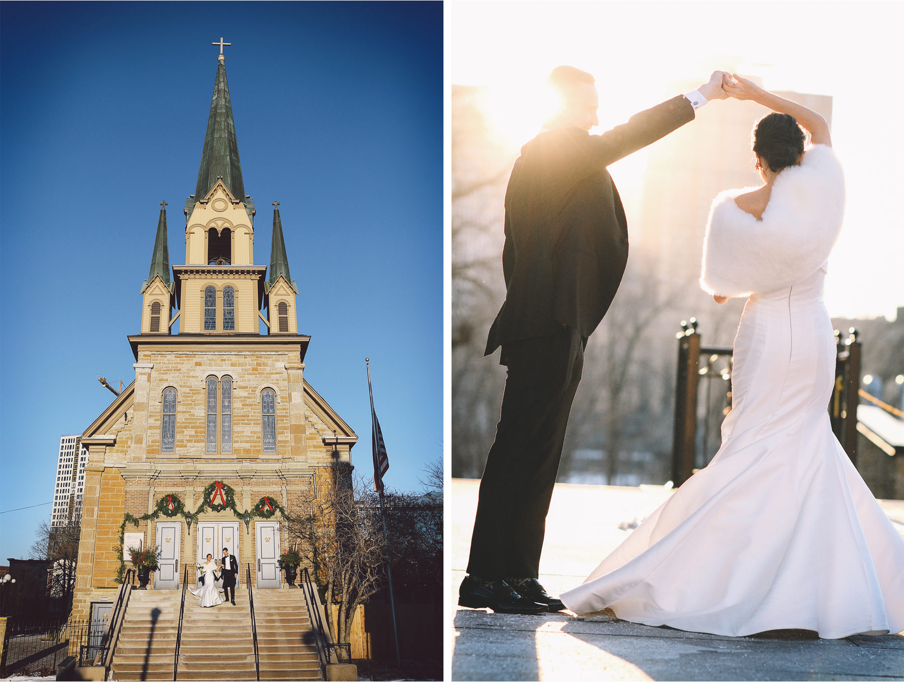 10-Minneapolis-Minnesota-Wedding-Photographer-Andrew-Vick-Photography-Winter-Bride-and-Groom-Our-Lady-of-Lourdes-Allison-and-Steve.jpg