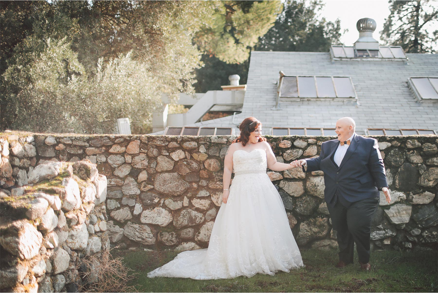 11-Los-Angeles-California-Wedding-Photographer-by-Vick-Photography-Highland-Springs-Ranch-LGBT-Bride-First-Look-Holding-Hands-Rebecca-and-Terri.jpg