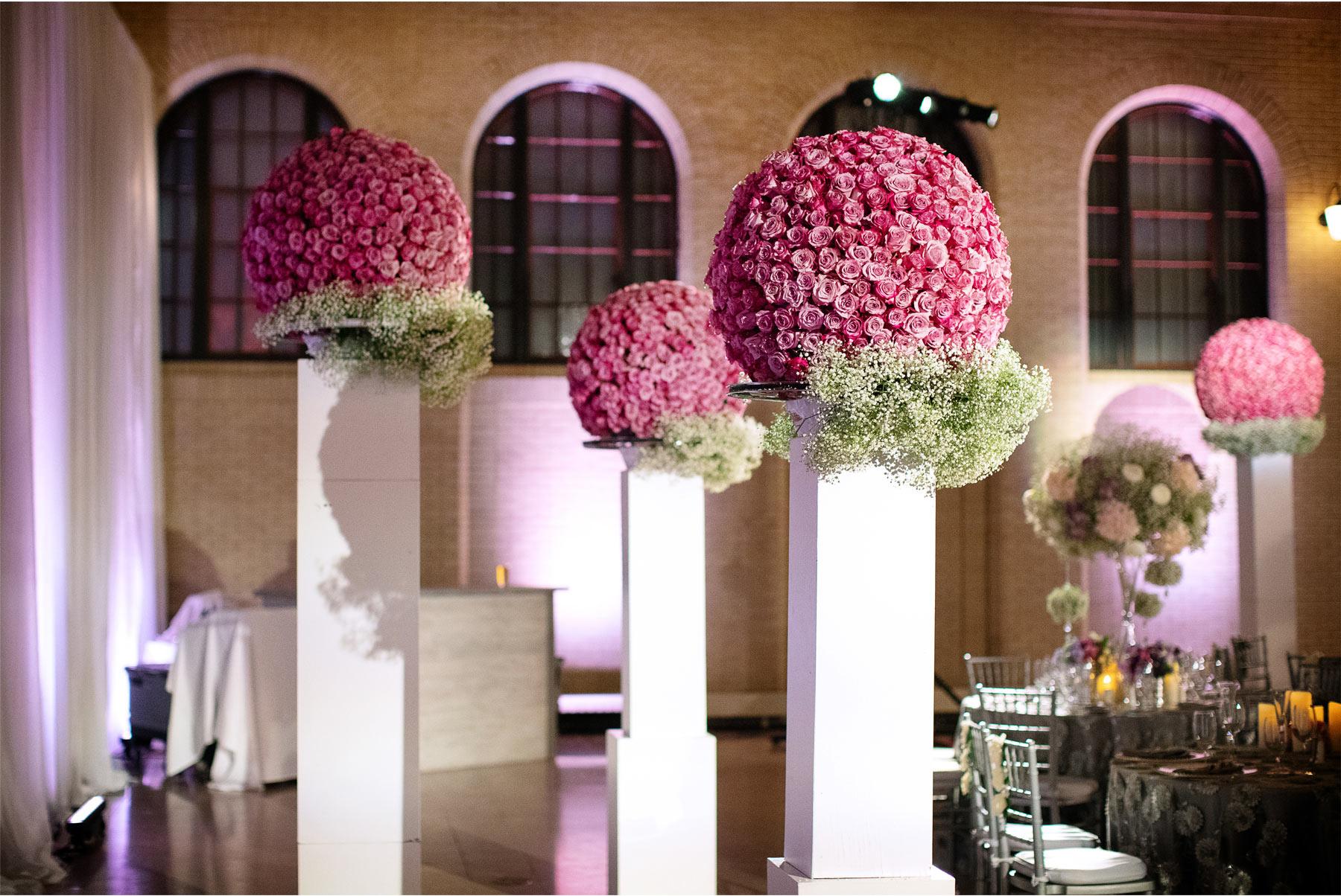 08-Andrew-Vick-Photography-My-Great-Big-Live-Wedding-with-David-Tutera-Behind-the-Scenes-Minnesota-Union-Depot-Saint-Paul-Flowers-Flower-Balls-Ceremony.jpg
