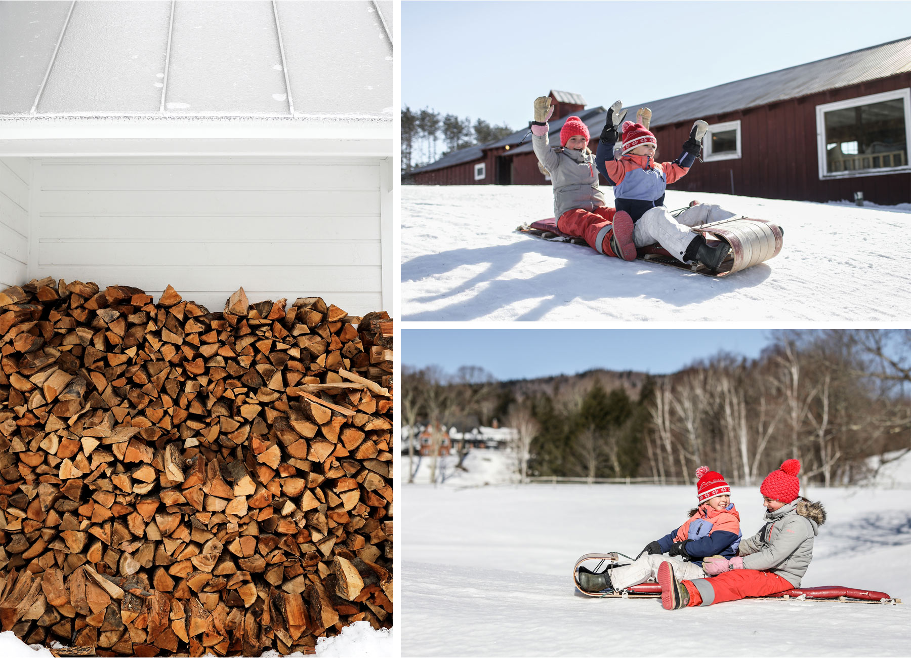 14-Stowe-Vermont-by-Andrew-Vick-Photography-Edson-Hill-Winter-Lodge-Sledding-Wood-Pile.jpg