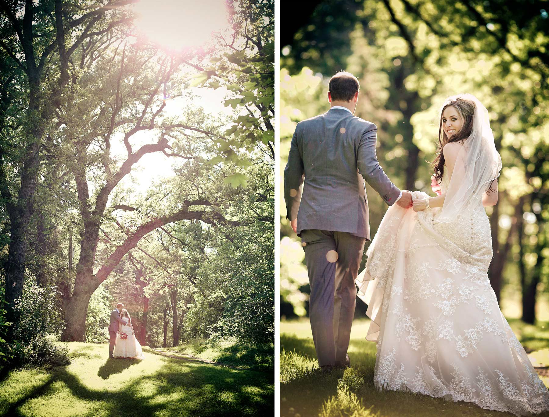 20-Minneapolis-Minnesota-Wedding-Photographer-by-Andrew-Vick-Photography-Summer-Kiss-Embrace-Dress-Woods-Bride-Groom-Natalie-and-Andrew.jpg