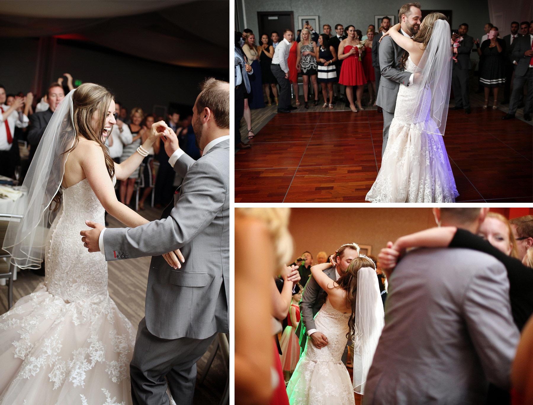 23-Minneapolis-Minnesota-Wedding-Photographer-by-Andrew-Vick-Photography-Summer-Edina-Westin-Hotel-Reception-Dance-Kiss-Embrace-Bride-Groom-Natalie-and-Andrew.jpg