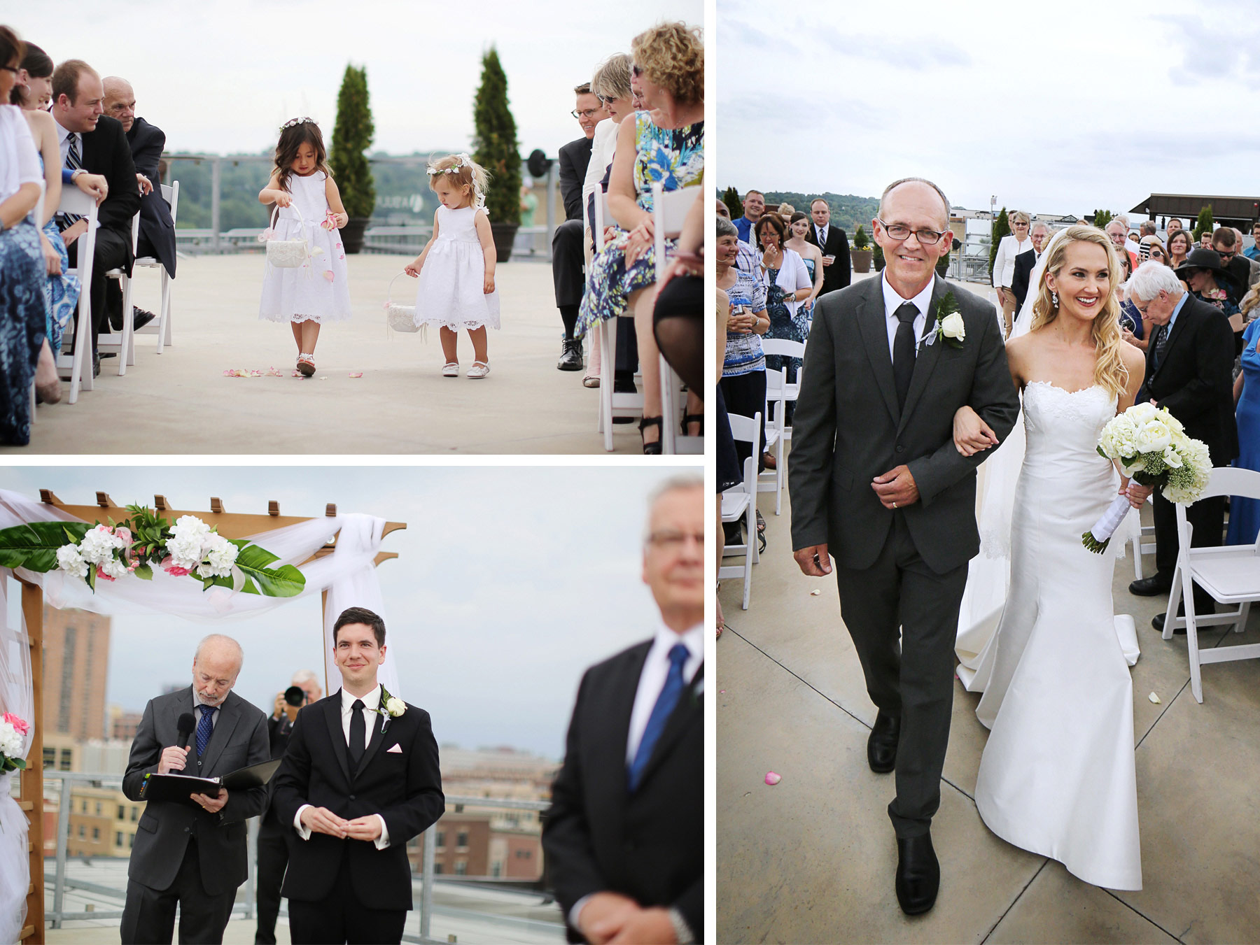11-Saint-Paul-Minnesota-Wedding-Photographer-by-Andrew-Vick-Photography-Summer-Abulae-Ceremony-Flower-Girls-Groom-Bride-Parents-Dress-Flowers-Laura-and-Tim.jpg