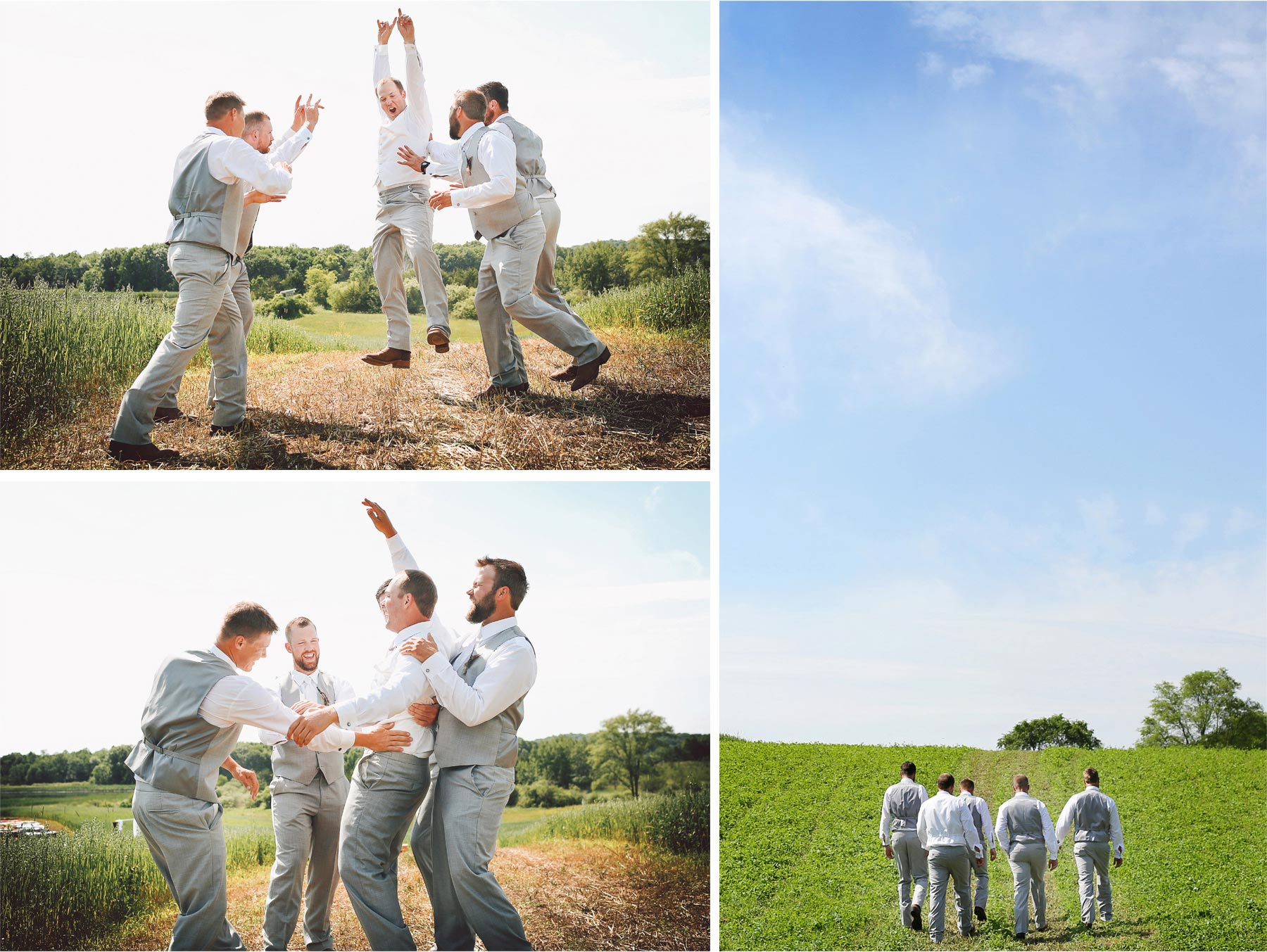 03-South-Haven-Minnesota-Wedding-Photographer-by-Andrew-Vick-Photography-Summer-Tomala-Farm-Field-Groomsmen-Groom-Celebration-Vintage-Renee-and-Bobb.jpg
