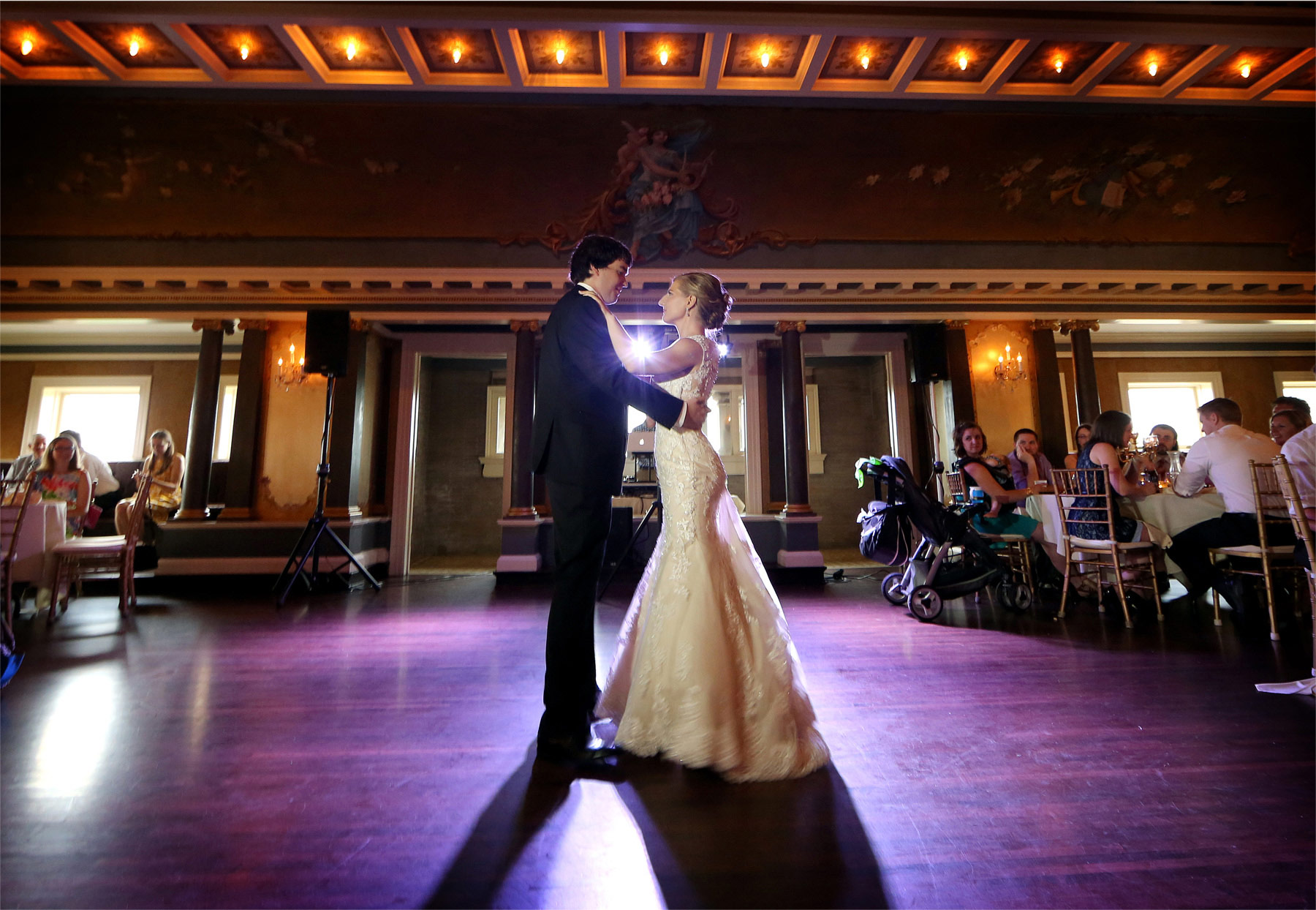 19-Minneapolis-Minnesota-Wedding-Photographer-by-Andrew-Vick-Photography-Summer-Semple-Mansion-Reception-Bride-Groom-Dance-Stephanie-and-Brady.jpg