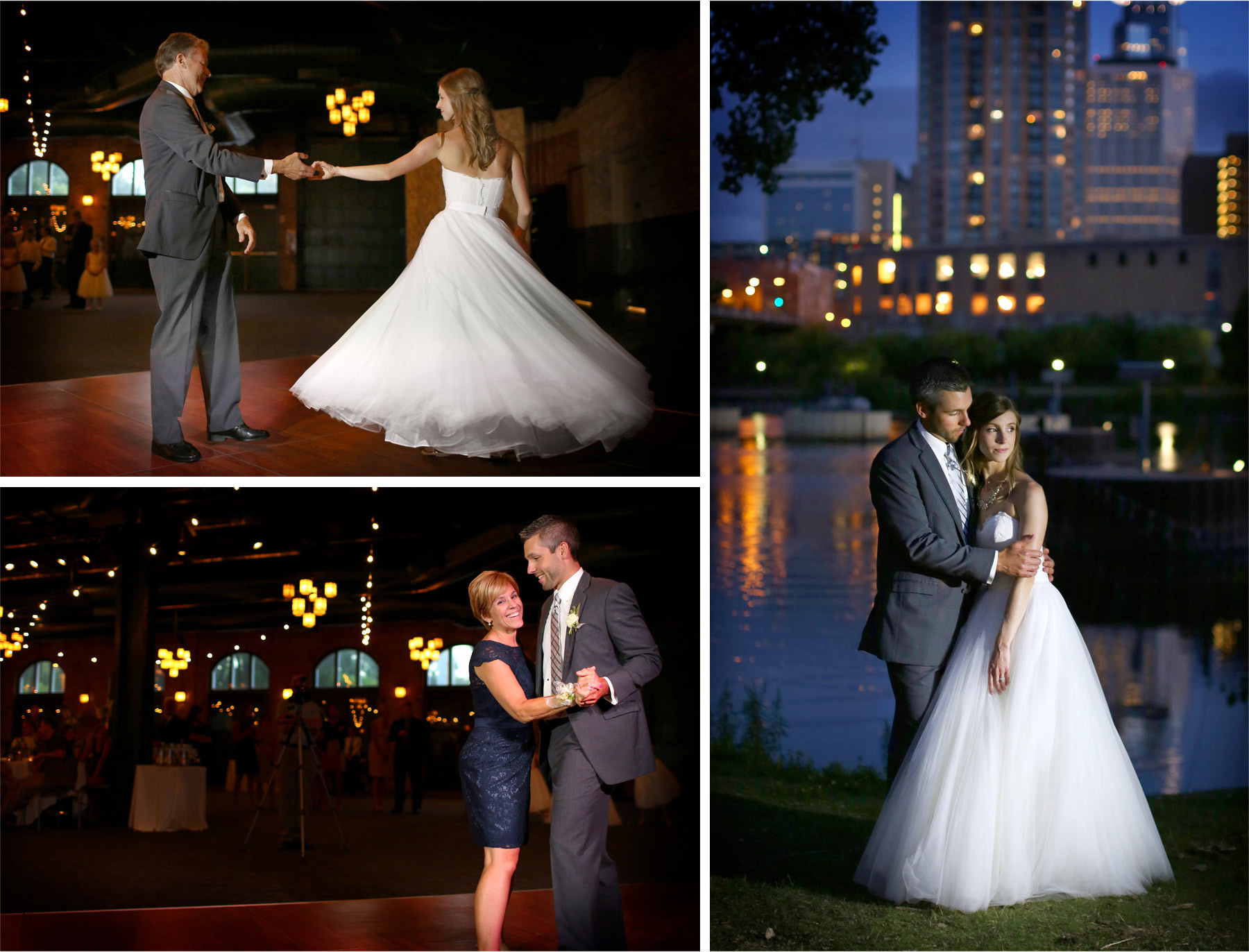20-Minneapolis-Minnesota-Wedding-Photographer-by-Andrew-Vick-Photography-Summer-Bride-Groom-Nicollett-Island-Pavilion-Dress-Dance-Twirl-Mother-Parents-Downtown-Night-Mississippi-River-Katie-and-Travis.jpg