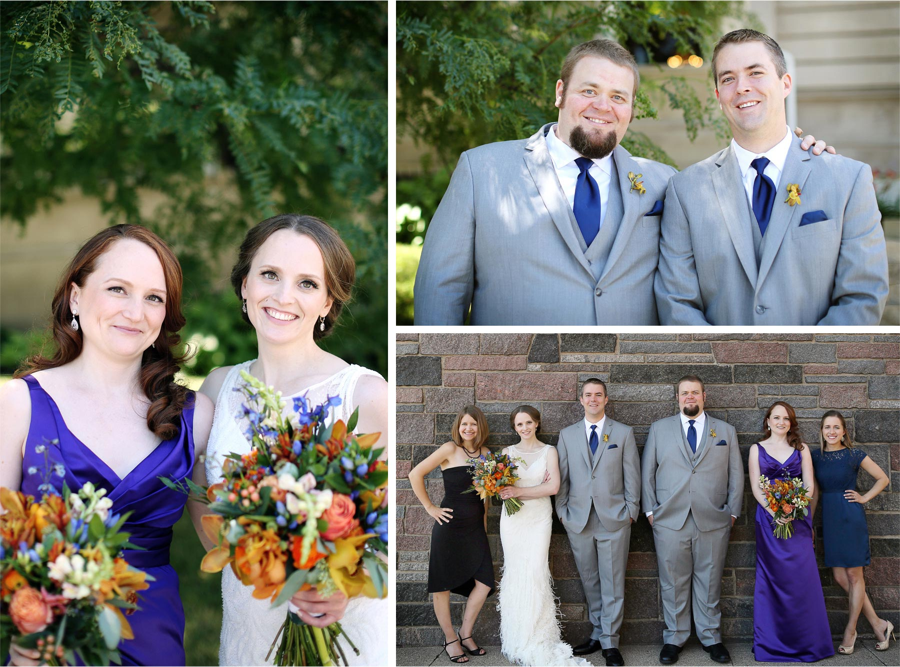 12-Minneapolis-Minnesota-Wedding-Photographer-by-Andrew-Vick-Photography-Summer-Semple-Mansion-Bride-Groom-Bridesmaid-Groomsmen-Bridal-Party-Flowers-Stephanie-and-Robert.jpg