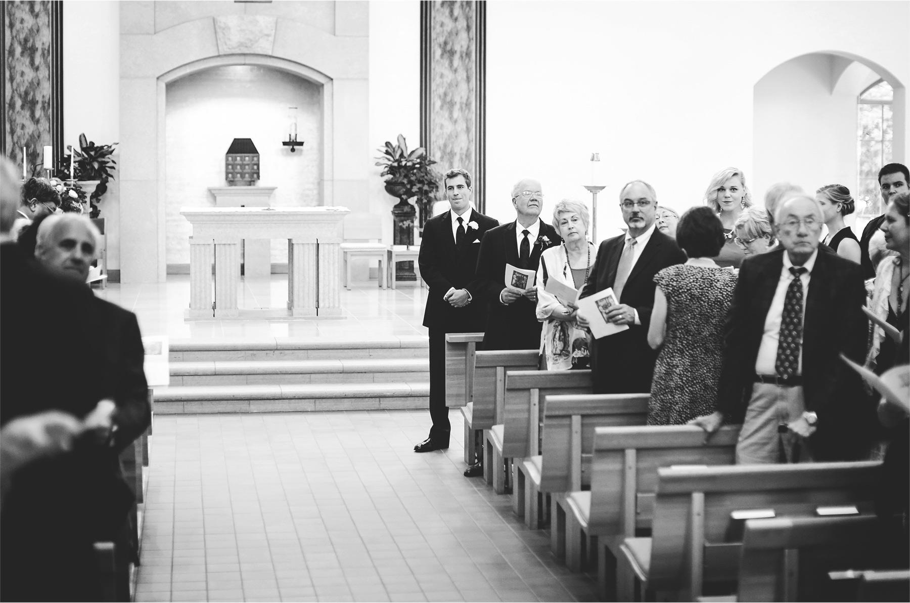 14-Edina-Minnesota-Wedding-Photographer-by-Andrew-Vick-Photography-Summer-Our-Lady-of-Grace-Catholic-Parish-Church-Ceremony-Groom-Black-White-Betsy-and-Jon.jpg