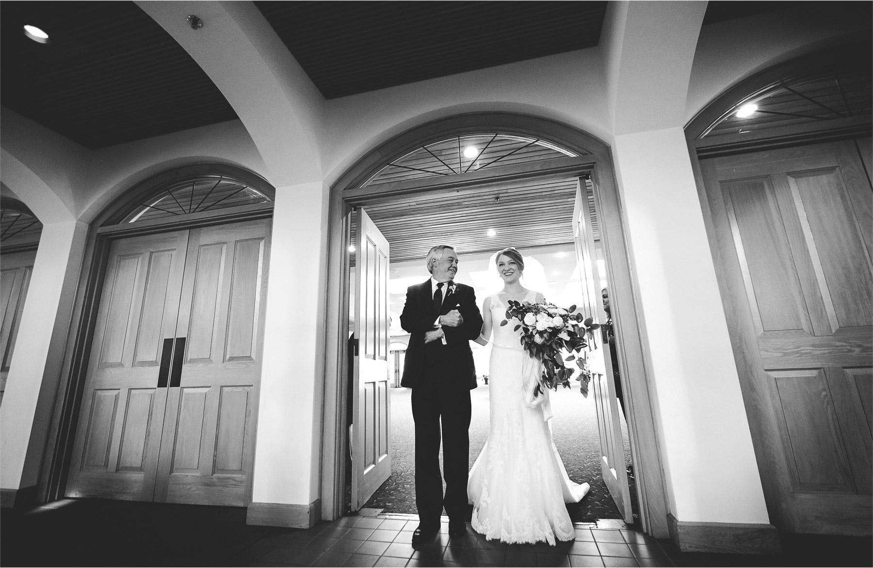 15-Edina-Minnesota-Wedding-Photographer-by-Andrew-Vick-Photography-Summer-Our-Lady-of-Grace-Catholic-Parish-Church-Ceremony-Bride-Falther-Parents-Black-White-Betsy-and-Jon.jpg