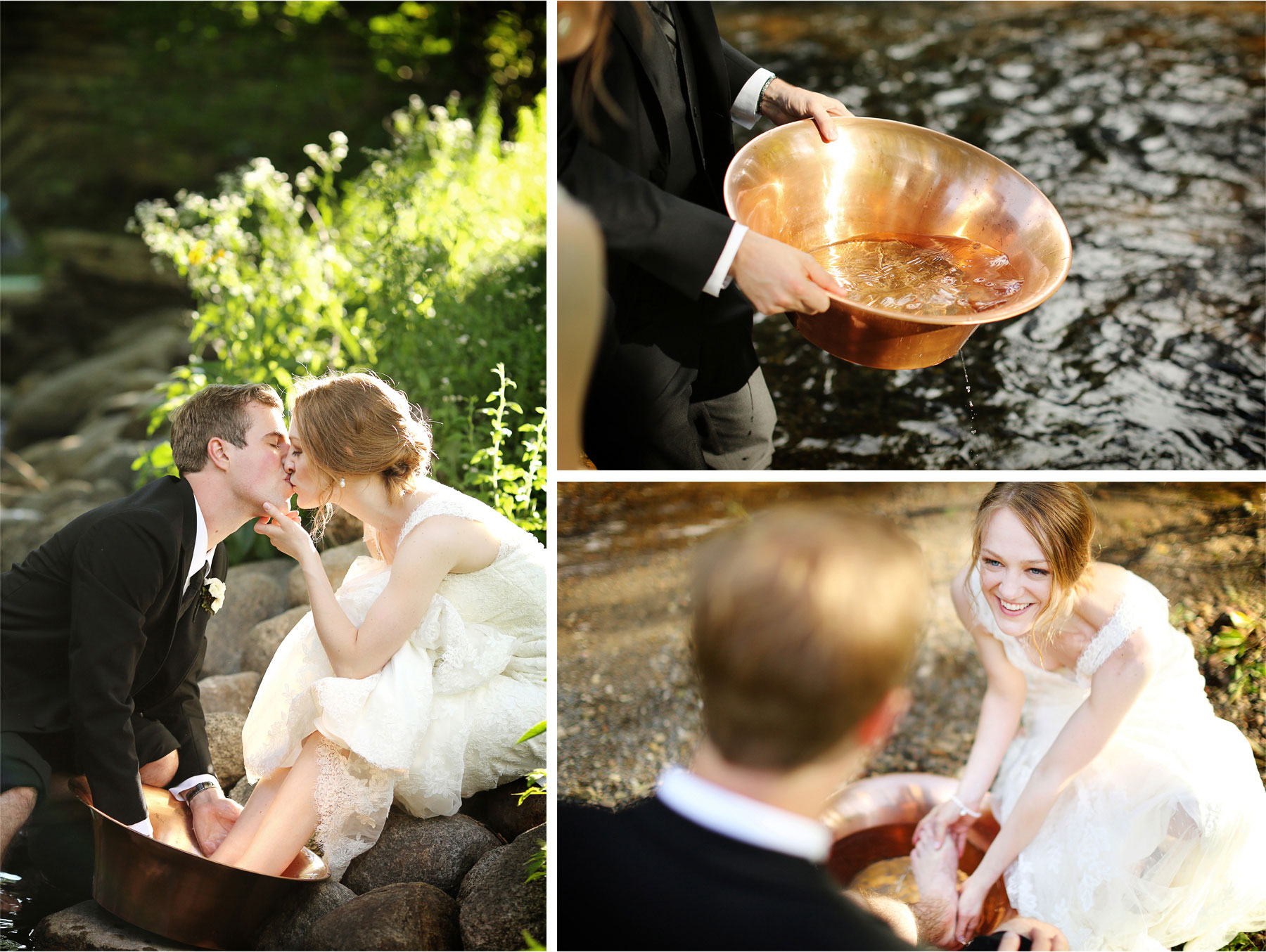 23-Edina-Minnesota-Wedding-Photographer-by-Andrew-Vick-Photography-Summer-Bride-Groom-Ceremonial-Foot-Washing-Copper-Bowl-Kiss-Creek-Betsy-and-Jon.jpg