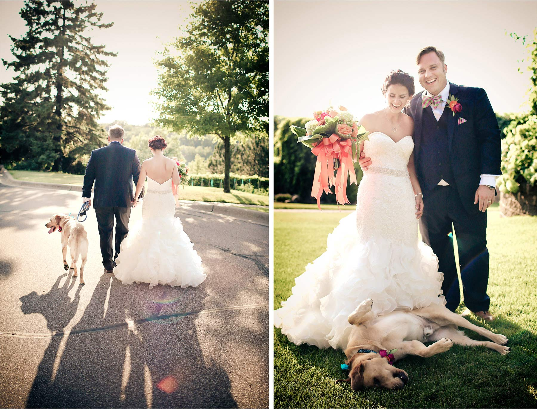 20-Saint-Paul-Minnesota-Wedding-Photographer-by-Andrew-Vick-Photography-Summer-Bride-Groom-Dog-Vintage-Lindsay-and-Dustin.jpg