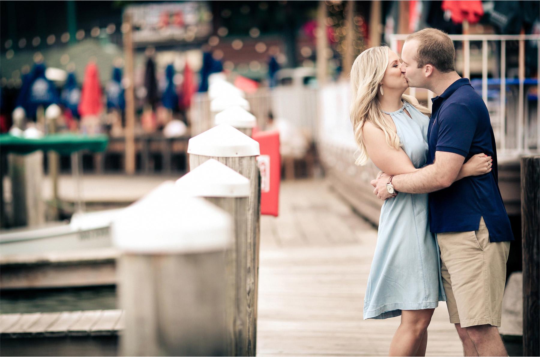 02-Wayzata-Minnesota-Engagement-Photographer-by-Andrew-Vick-Photography-Summer-Lake-Minnetonka-Kiss-Dock-Vintage-Ashley-&-Kasey.jpg