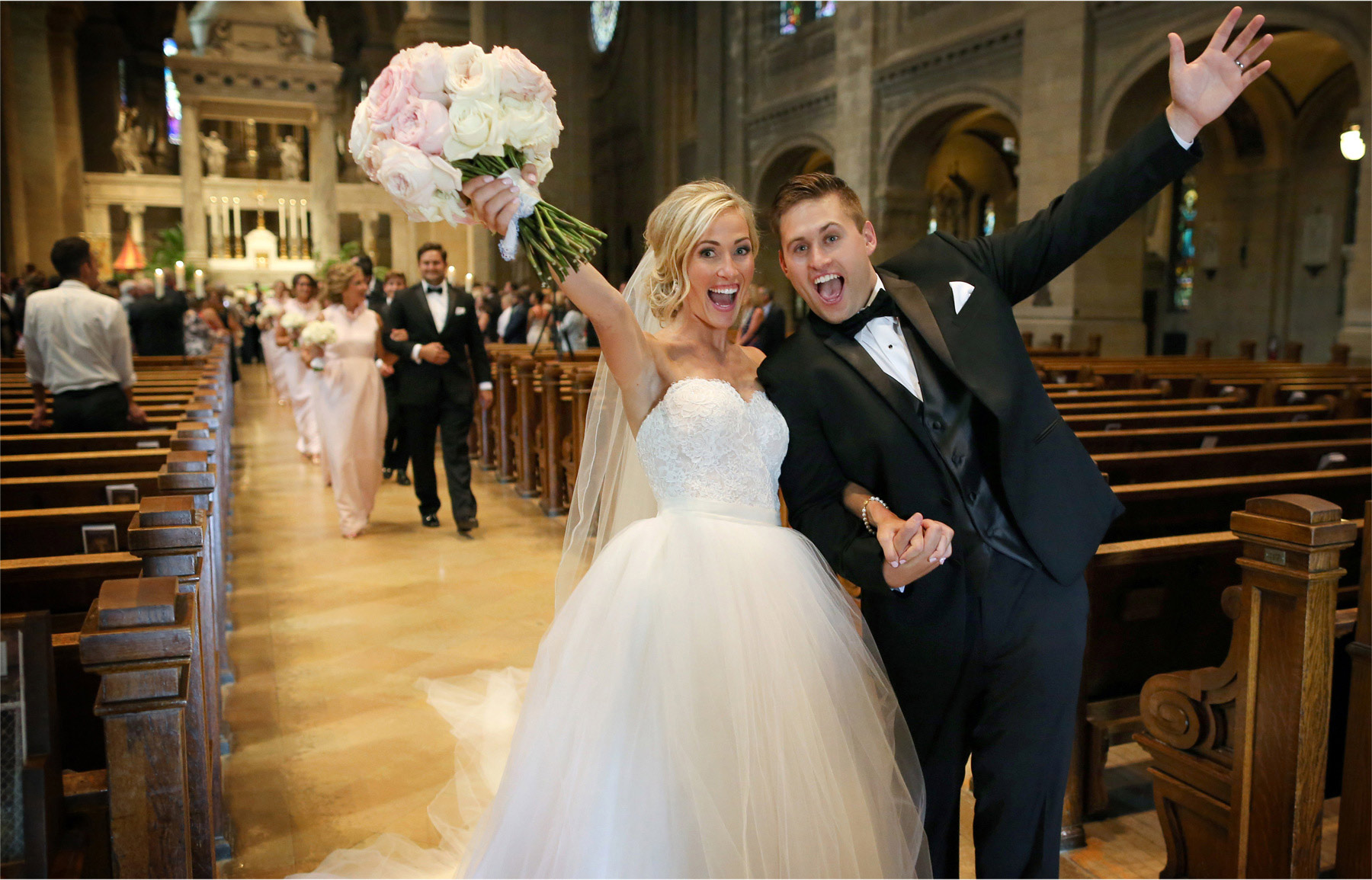 13-Minneapolis-Minnesota-Wedding-Photographer-by-Andrew-Vick-Photography-Summer-Basilica-of-Saint-Mary-Ceremony-Bride-Groom-Excitement-Emily-and-Jay.jpg